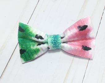 Mini Watermelon Bow
