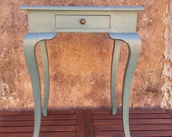 Handpainted French console table