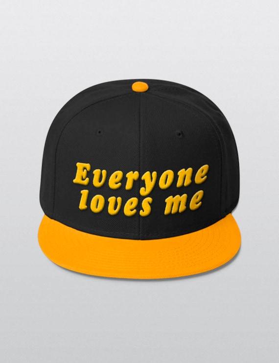 Every One Loves Me | Wool Blend Snapback Cap