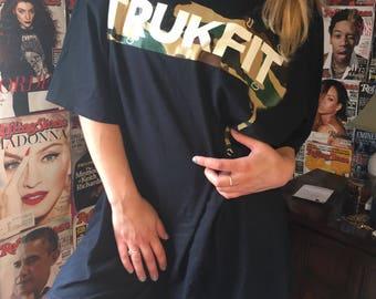TRUKFIT by lil wayne oversized t shirt