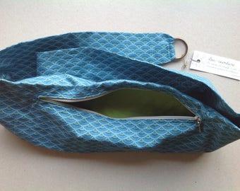 """Small waves"" belt bag, revisited banana... Size M/L"