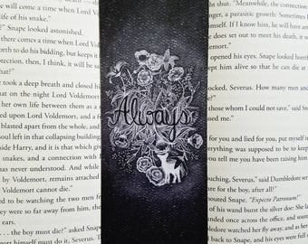 Always with Lily bookmark- Harry potter, Snape