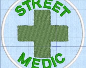 Resistance Scouts Street Medic merit badge patch resist politics antifa feminist leftist