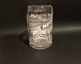 Clyde Mays Candle 85 Proof Alabama Whiskey Bottle Soy Candle. Made To Order. 750ML