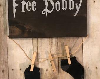 Free dobby sock holder