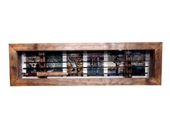 Fly Fishing Rod  Display Case - Horizontal