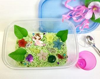 Fairy Garden Mini Sensory Bin