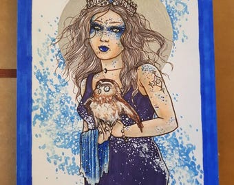 Moon Goddess Moon Queen Princess  Of The Stars
