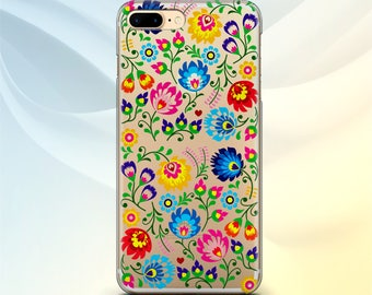 iPhone 6 case Floral Samsung S7 Edge case iPhone 7 Flowers Samsung S8 case iPod Touch 6 Pattern LG G6 case Google Pixel Silicone iPhone 6S