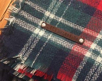 LL Plaid Blanket Scarf