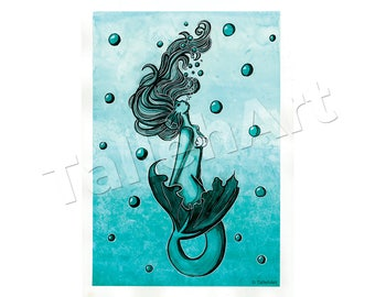 Mermaid Original - A3
