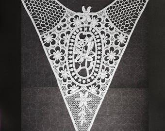 Lace lace white