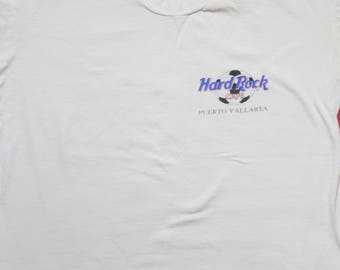 Rare World Cup 1994 Hard Rock  Puerto Vallarta  Tee Shirt