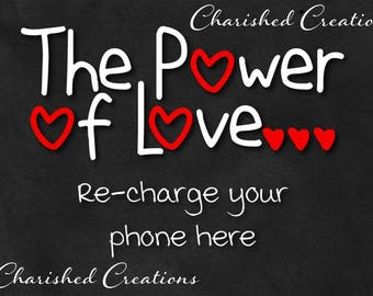 The Power of Love, Chalkboard, Wedding Sign, *INSTANT DOWNLOAD*