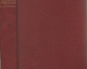 The Expositor's Bible Pastoral Epistles Book by Rev Alfred Plummer