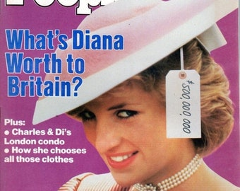 People Magazine November 11, 1985 What's Diana Worth to Britain?