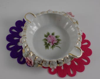 Vintage Lefton China Ashtray