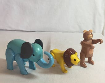 Vintage Fisher Price Circus Animals!
