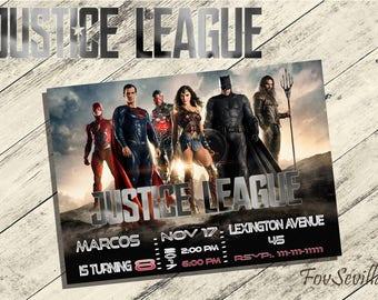 justice league,justice league birthday,justice league invitation,justice league birthday invitation,justice league download,league invites