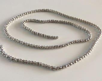 Link chain 50cm round