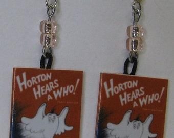 Horton Hears A Who Mini Book Earrings E286