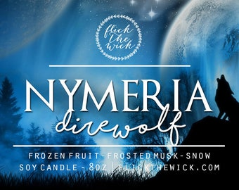 Nymeria (Game of Thrones) - 8oz Soy Candle
