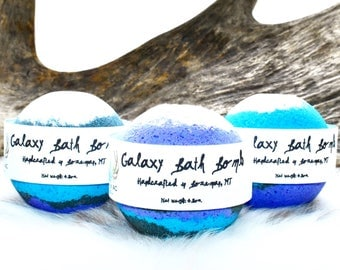 Galaxy Bath Bombs - Bath Bombs - Galaxy Bath Bomb -Easter Gift - Gifts for Her - Wholesale Bath Bombs- Bath Bombs Bulk - Mothers Day Gift