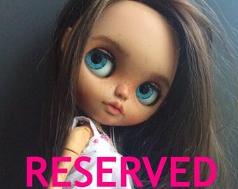 Custom Blythe doll OOAK