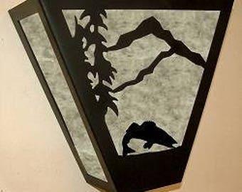 Triangle Sconce Light - Walleye Design