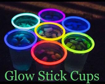 Glow Sticks, Glow Stick Cups, Glow Stick Party, Glow Stick Party Cups, Glow In the Dark