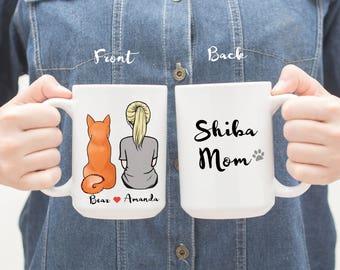 Personalized Shiba Inu Mug, Shiba Inu Mug, Shiba Inu Mom Mug, Shiba Inu Dad Mug, Gift For Dog Mom,Gift For Dog Dad, Gift For Shiba Inu Lover