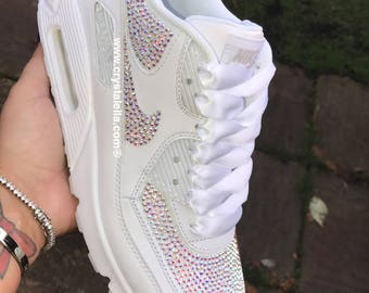 Swarovski Crystal Nike Air Max 90 - Crystalella Limited