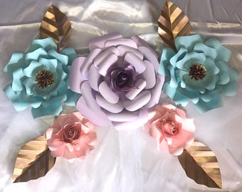 Paper flowers for any party occasion