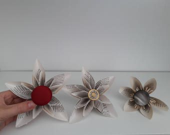 Book Art Flowers