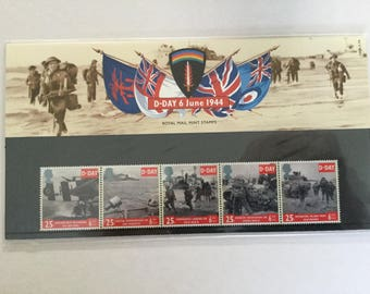 D Day 6 June 1944 Royal Mail Mint Stamps Presentation Pack 1994