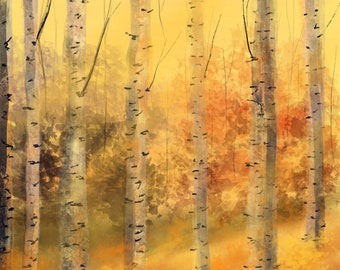 Birch By The Dusk