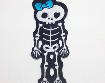 Skeleton patch Body Skeleton Iron on patch