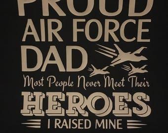 Proud Air Force Dad Shirt