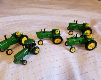 ERTL Vintage John Deere Die Cast Tractors