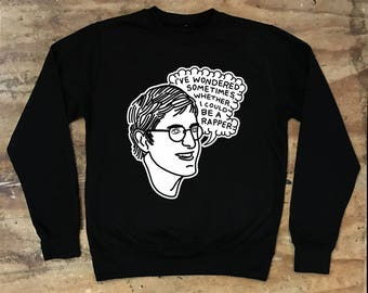 Louis Theroux - I Wondered Sometimes Crew Neck Sweater