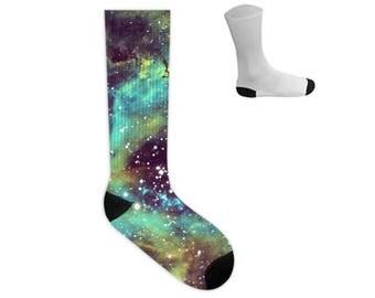 Rosette Nebula Socks in Hubble Narrowband