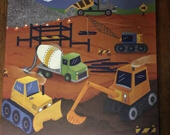 Kids room wall canvas