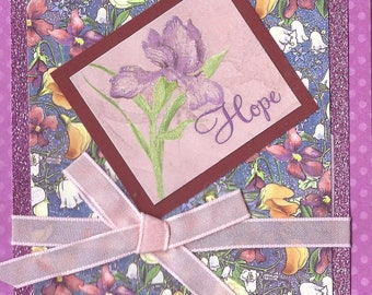 card for serious illness or encouragement
