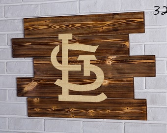 St. Louis Cardinals Wood Sign   St. Louis Cardinals Wall art   St. Louis Cardinals Gift   St. Louis Cardinals Birthday