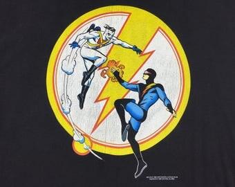 Vintage 1996 Nexus meets Madman comic book t-shirt mens xxl steve rude mike allred dark horse comics