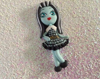 Franky/Monster High Polymer Clay Figure