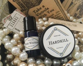 3mL and Solid Gift Set / Perfume Oil / Vegan Perfume / Handmade Perfume / Natural Perfume / Solid Perfume