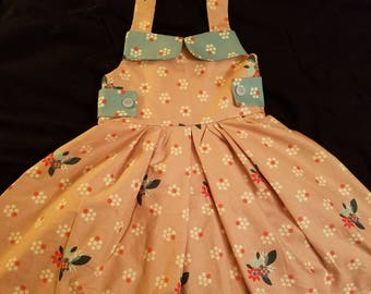 New Floral Girl's Sundress