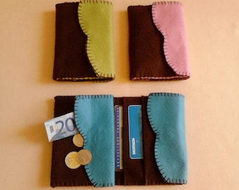 Creative sewing KIT wallet felt fashion accessories