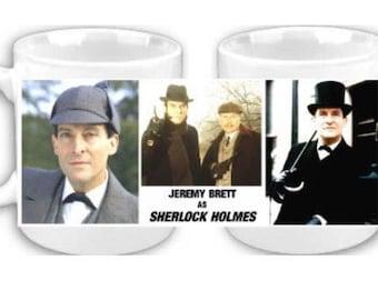 Sherlock Holmes Jeremy Brett coffee mug